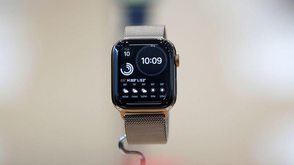 Foto: Los Apple Watch de las series 4 y 5 son capaces de hacer electrocardiogramas completos