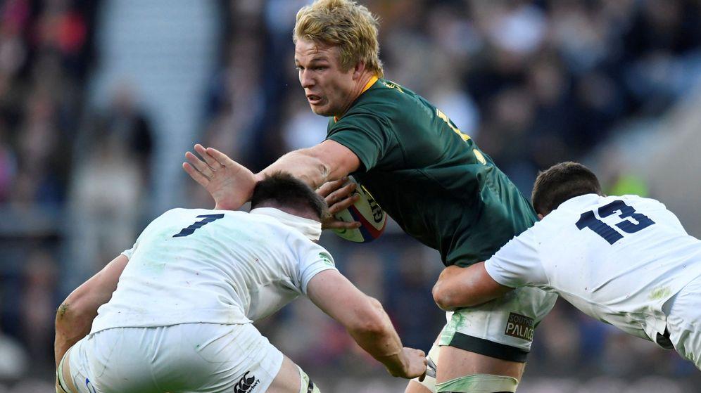 Foto: Hace un año, Sudáfrica e Inglaterra ya se vieron las caras. (Reuters)