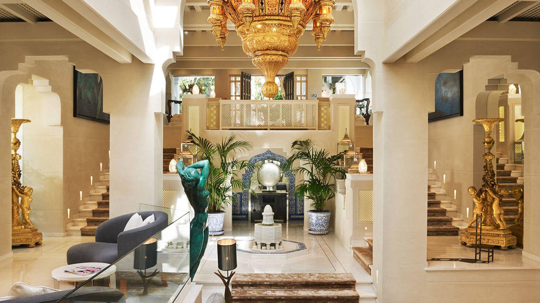 Así es el esplendor del Marbella Club Hotel.