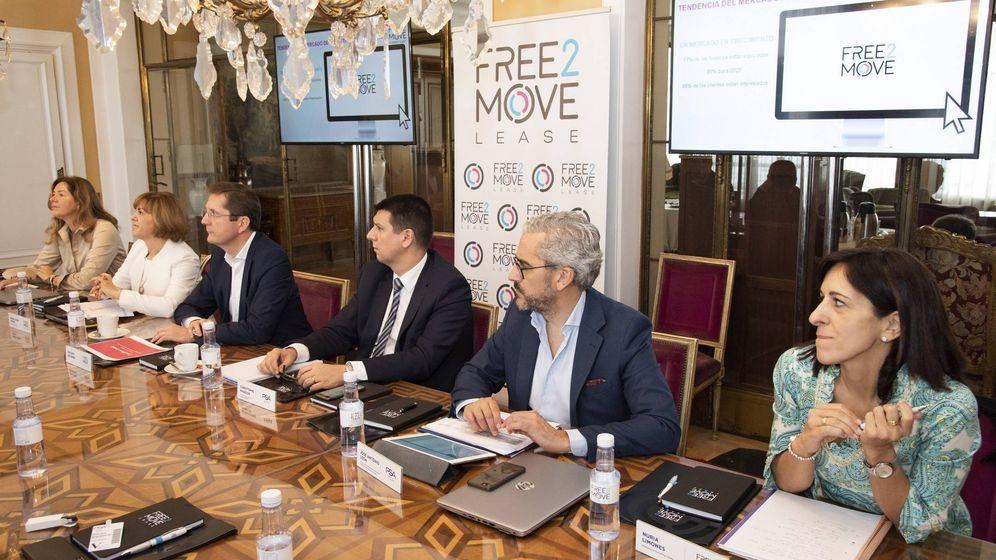 Foto: Presentación en la sede del grupo PSA en Madrid de los resultados de Free2move Lease.
