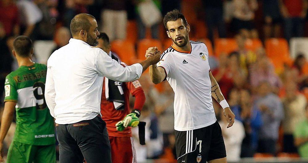 Foto: Nuno no quiere en su plantilla a Negredo (EFE)