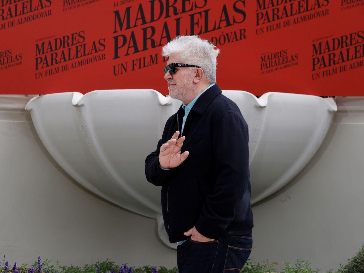 Foto: Pedro Almodóvar presenta en Madrid 'Madres paralelas'. (EFE)