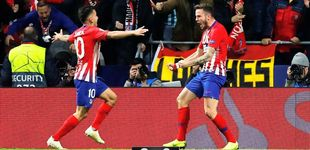 Post de La ambición de Saúl enseña al Atlético el camino a seguir en la Champions