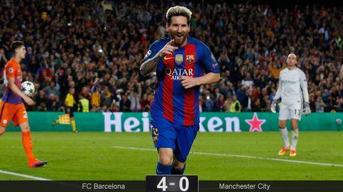 Messi hace sangre de los errores que Guardiola no sabe cómo evitar