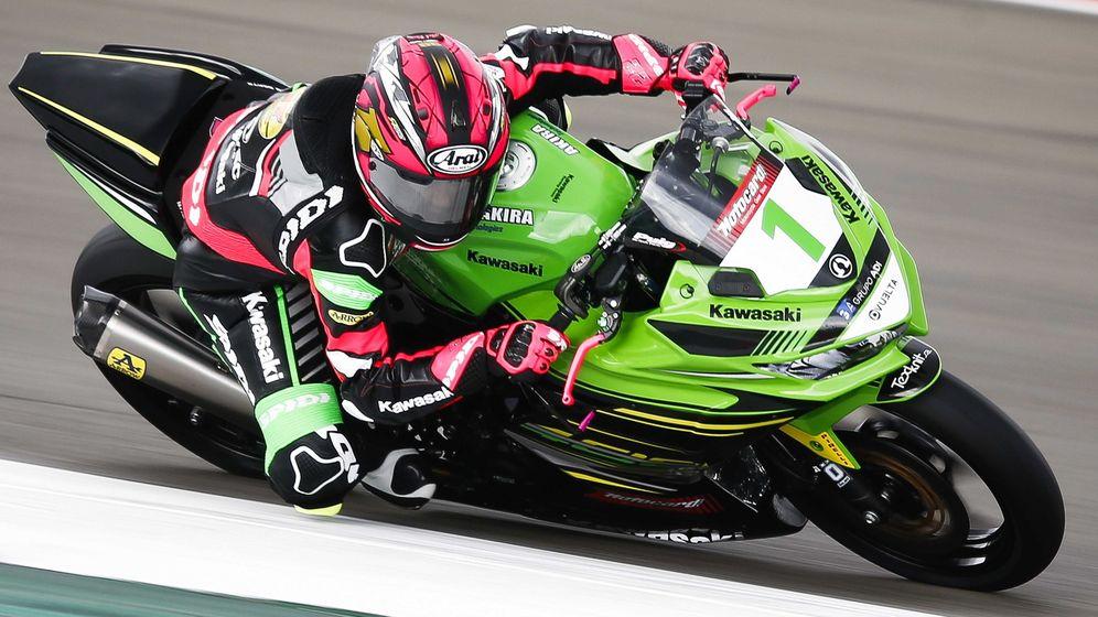 Foto: Ana Carrasco, durante el GP de Assen en el Mundial de Superbikes. (EFE)