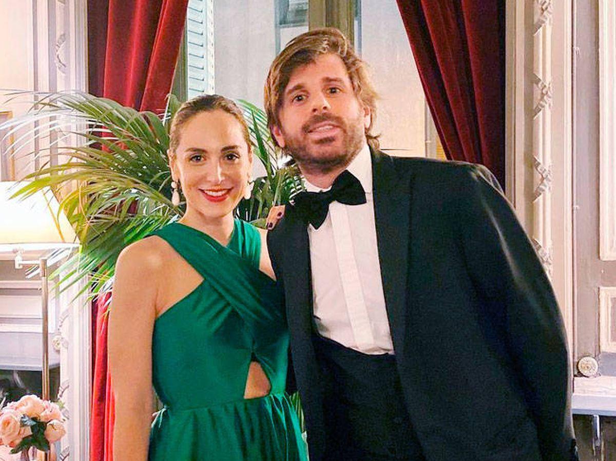 Foto: Tamara y Álvaro Falcó, en una fiesta el año pasado. (Redes)