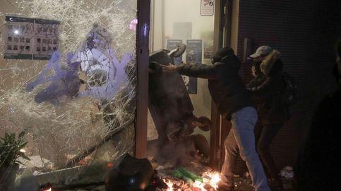 Heladas en Navarra tras el paso de 'Filomena' y protestas en Bruselas: el día en fotos