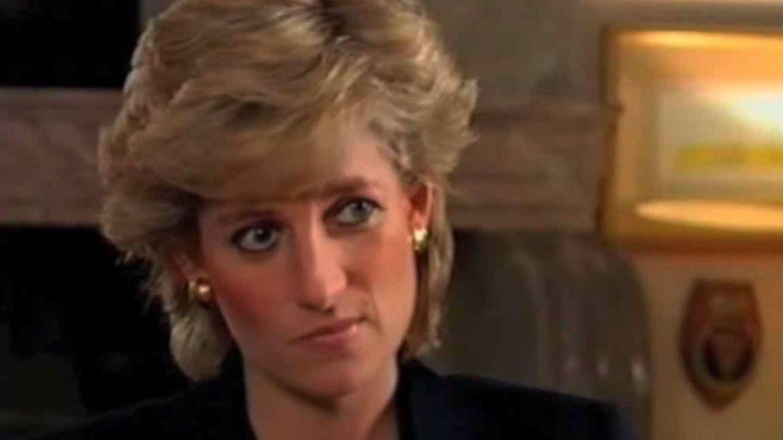 Diana de Gales, durante la histórica entrevista. (YouTube)