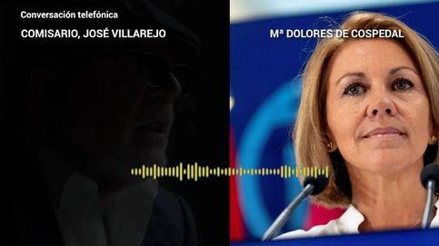 El recibimiento de Cospedal al comisario Villarejo: Encantada. ¿Un café o algo?