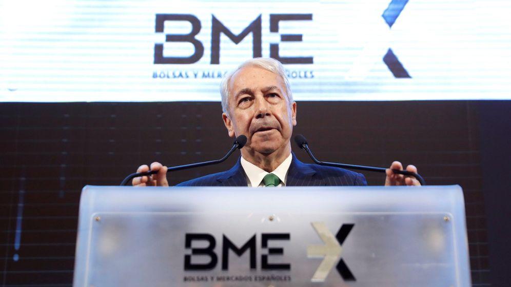 Foto:  El presidente de Bolsas y Mercados Españoles (BME), Antonio Zoido (EFE)