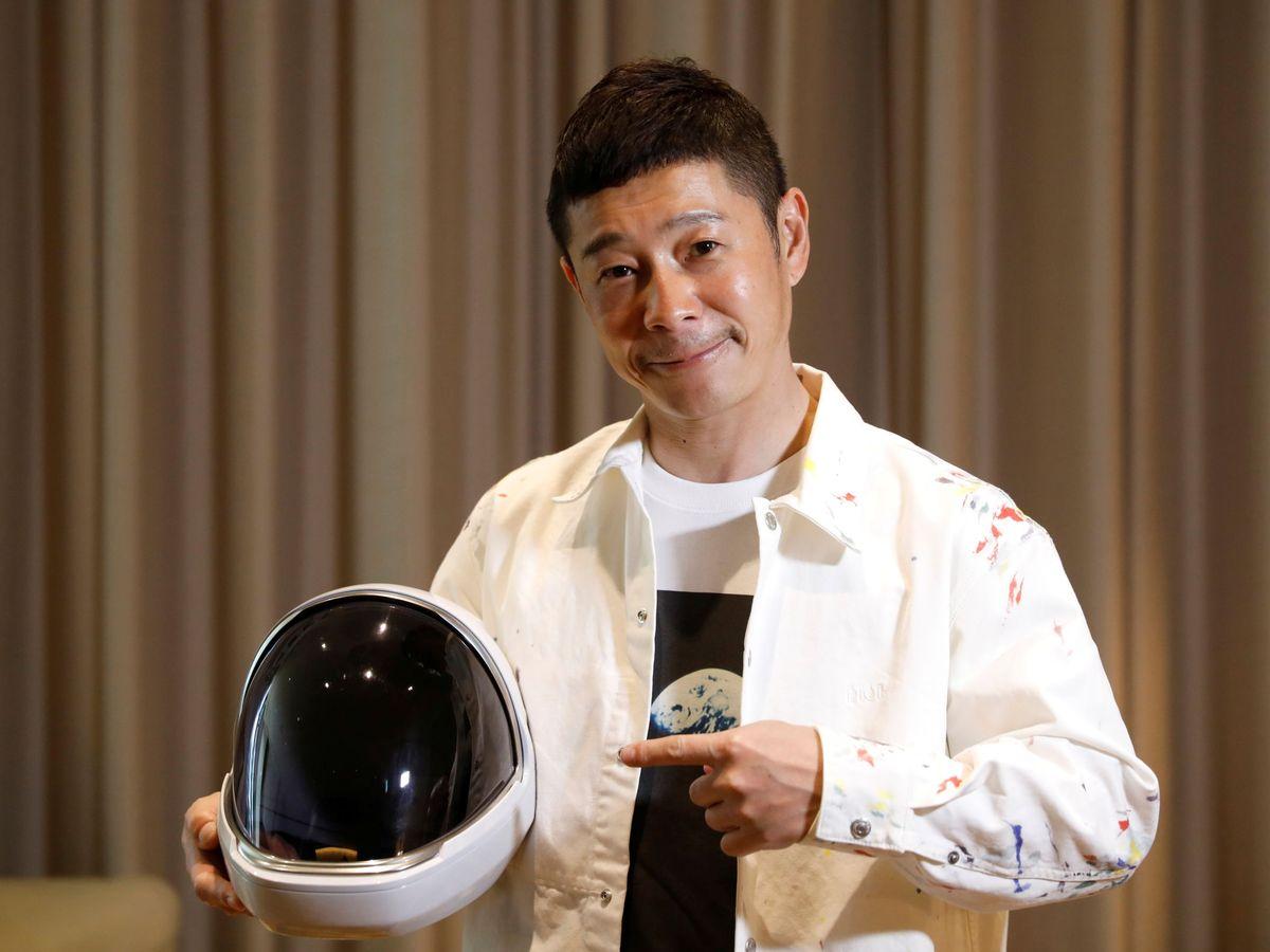 Foto: Yusaku Maezawa regalará un viaje espacial a 8 personas de todo el mundo (Reuters/Kim Kyung-Hoon)