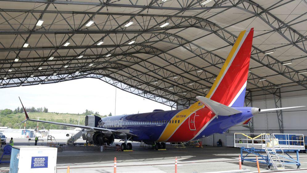 Foto: Un modelo 737 MAX de Boeing, en Seattle. (Reuters)