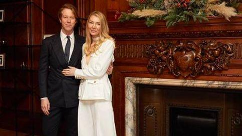 Esta emprendedora de moda se ha casado con el traje más cool del mundo