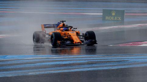 La clasificación del GP de Francia en directo: Alonso y Sainz sueñan con la Q3