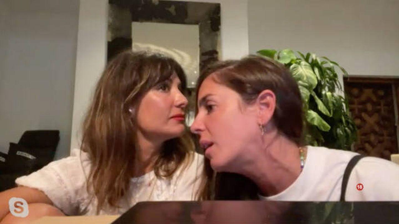 Anabel enfurece con el comentario de Pilar Yuste. 'Sobreviviré, after show'. (Mitele)