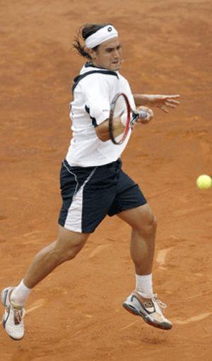 Ferrer trabaja para ganar a Bjorkman y unirse a Ferrero y Almagro en la segunda ronda de Hamburgo