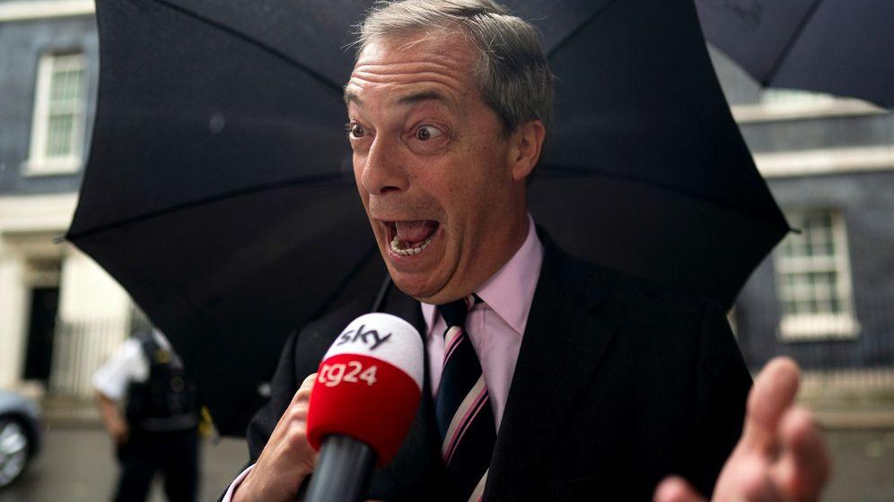 Foto:  El líder del Partido del Brexit, Nigel Farage. (EFE)