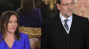 Rajoy y Viri abren la Moncloa por Navidad a Vasile, Ana Rosa, Susanna Griso y Cebrián