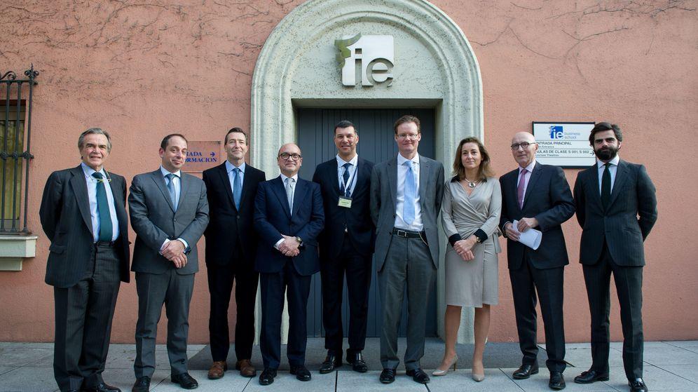 Foto: Foto de la presentación del  FT-IE Corporate Learning Alliance. (IE)