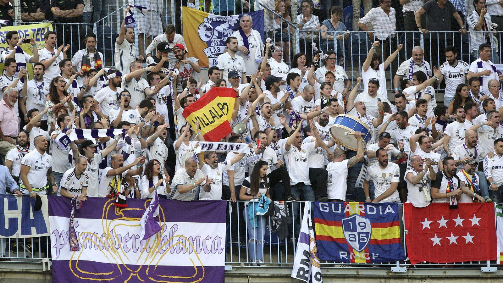 Foto: Aficionados del Real Madrid - Archivo. (EFE)