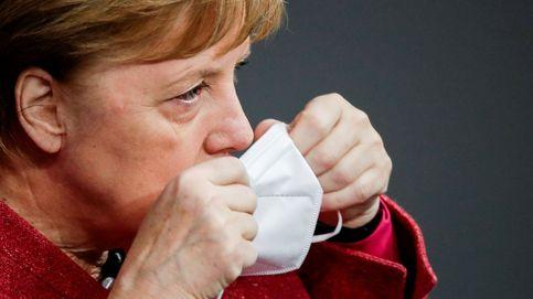 Merkel aboga por endurecer las restricciones en un emotivo discurso sobre la pandemia