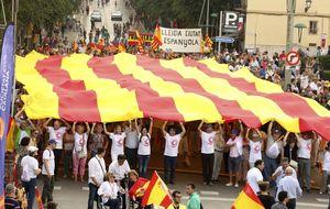 La Diada no independentista clama por recuperar el 'seny' en Tarragona