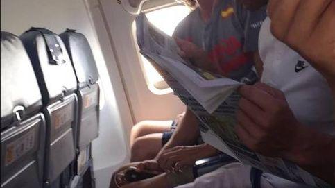 Un héroe entre mortales: Rafa Nadal regresa a Mallorca en clase turista