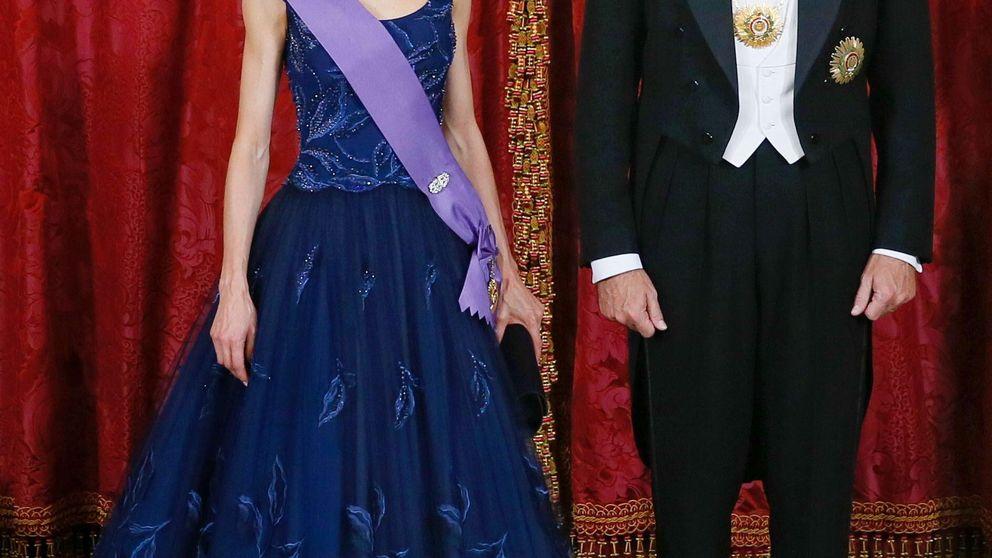 Doña Letizia versus Nadine Heredia: cena de gala en el Palacio Real