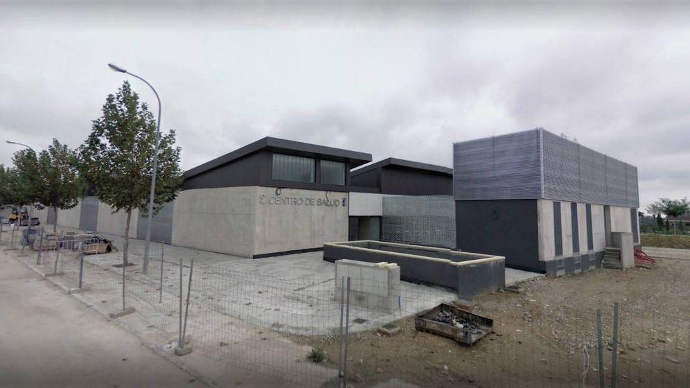 Foto: Imagen de archivo del centro de salud de El Casar en construcción.