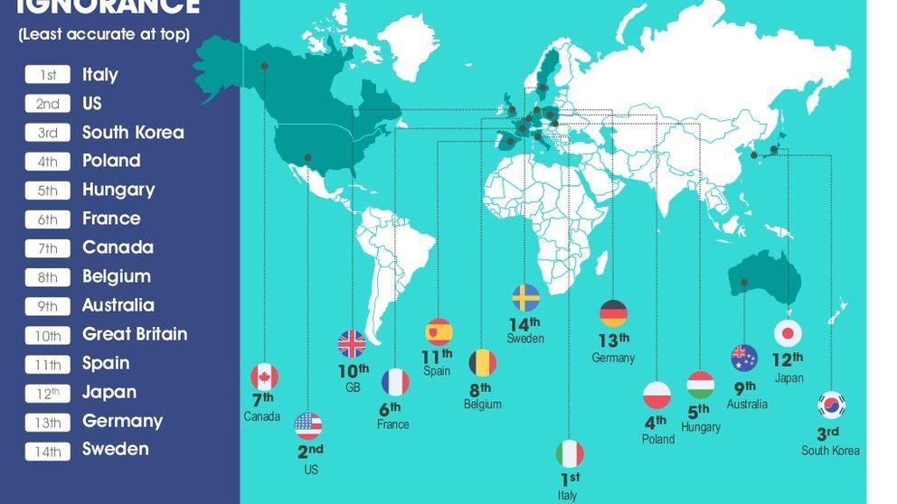 El mapa de los pa�ses m�s caros (y m�s baratos) del mundo ...