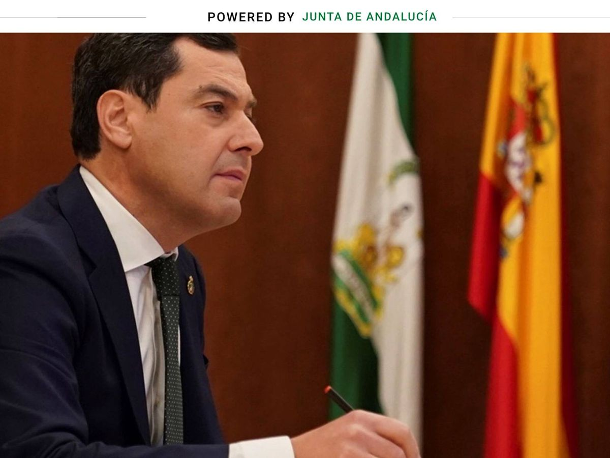 Foto: Juanma Moreno, presidente de Andalucía(EFE).