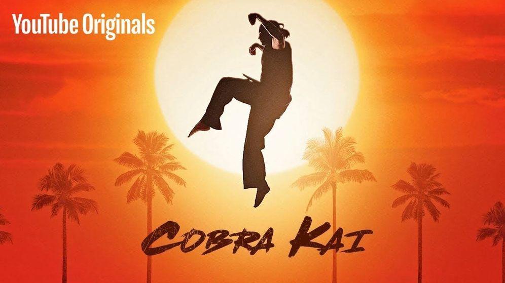 Foto: Imagen promocional de 'Kobra Kai', la continuidad de 'Karate Kid'. (Youtube)