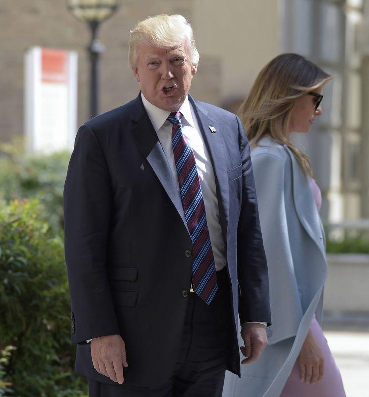 Foto: Donald Trump y Melania Trump en una imagen de archivo. (Gtres)