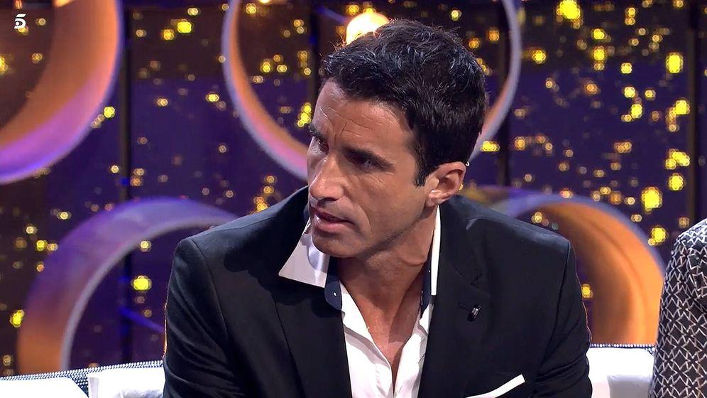 Foto: Hugo Sierra, en 'GH VIP 7'. (Telecinco)