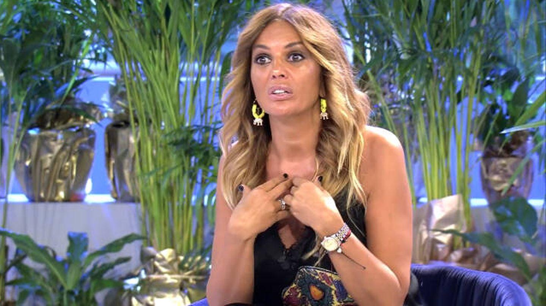 Marta López en 'Domingo deluxe'. (Telecinco)