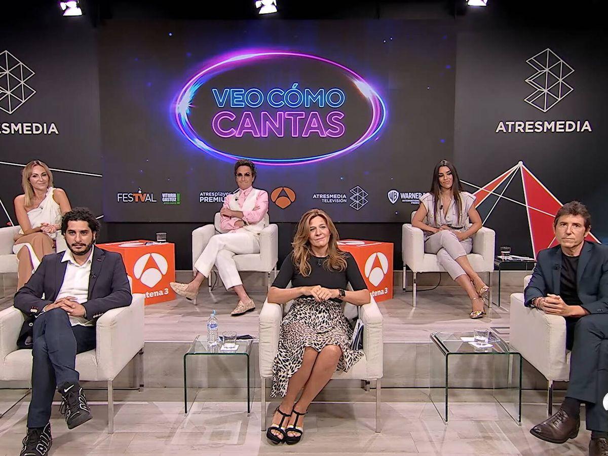 Foto: Equipo de 'Veo como cantas'. (Antena 3)