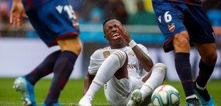 Post de Quiénes son los protectores de Vinícius en el Real Madrid en sus días más complicados