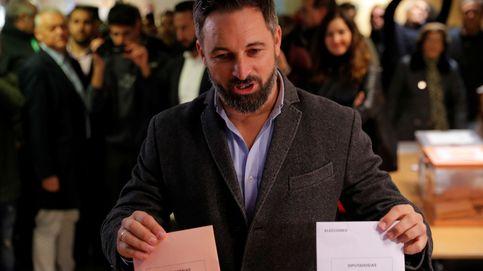 Santiago Abascal vota en las elecciones generales esperando alejar las tentativas de divisiones y odio entre los españoles