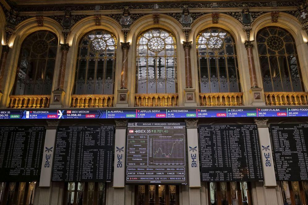 Foto: Imagen de la Bolsa de Madrid.