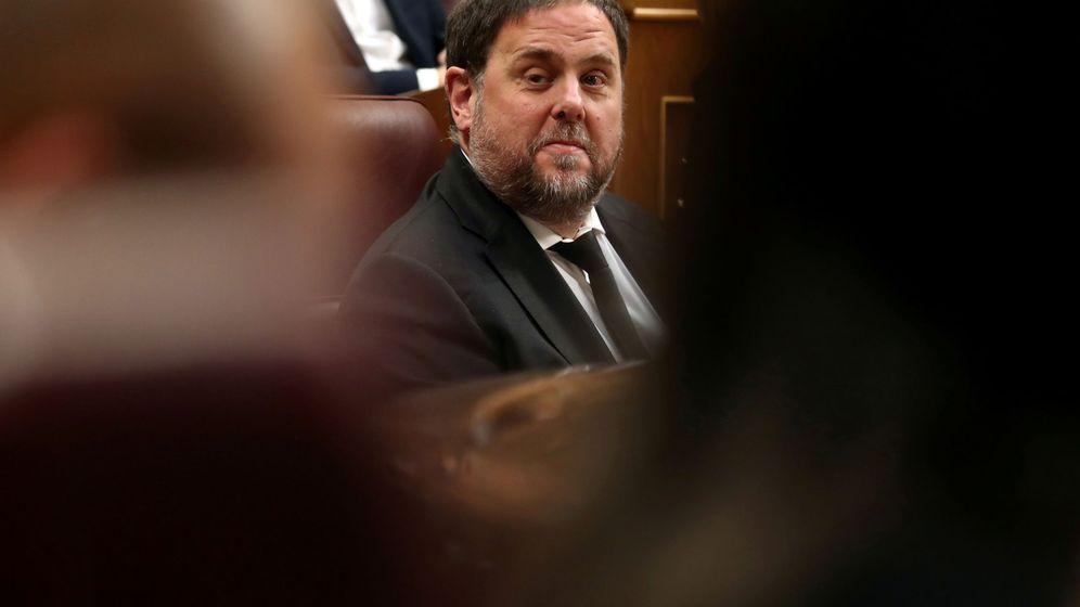 Foto: Oriol Junqueras en el Congreso de los Diputado. (Reuters)