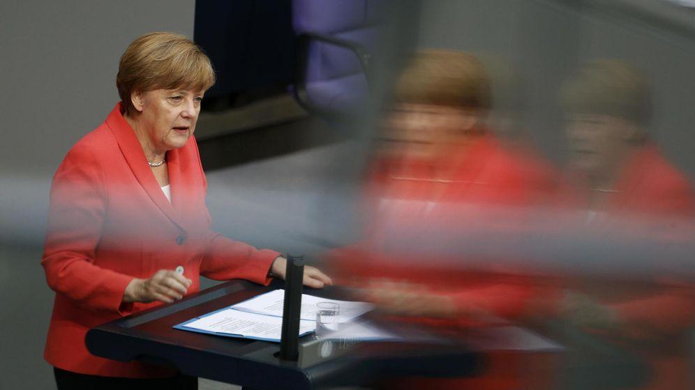 Foto: La canciller alemana Angela Merkel. (Reuters)