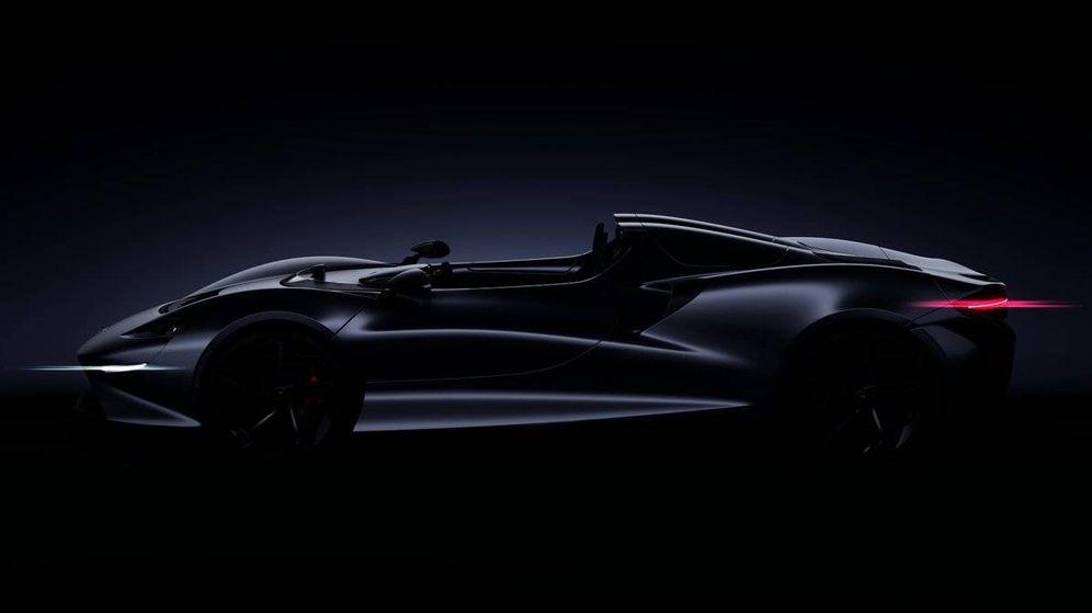 Foto: Imagen del McLaren Speddster. (McLaren)