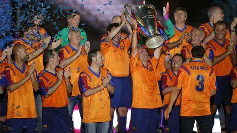 El homenaje del Barcelona a los héroes de Wembley terminó siendo un fiasco