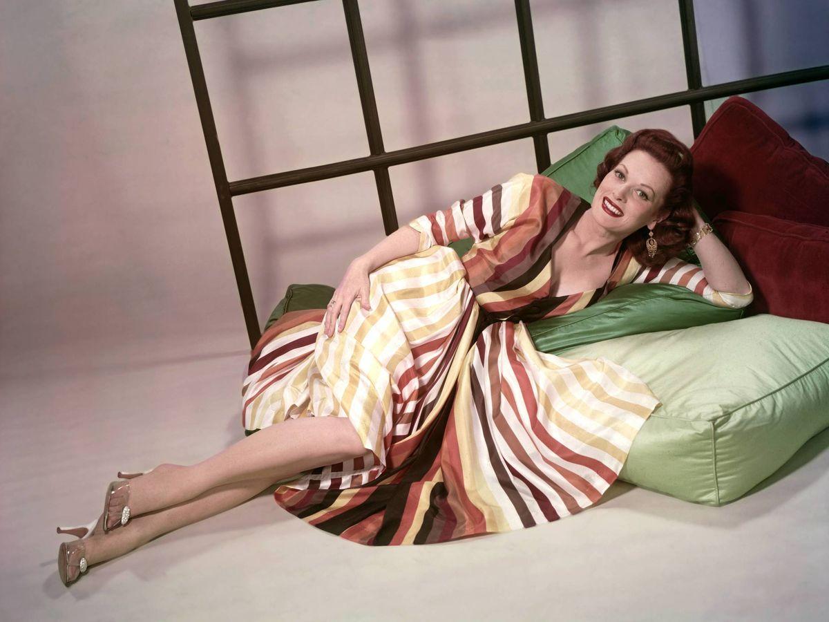 Foto: Maureen O'Hara, en una imagen publicitaria. (Cordon Press)
