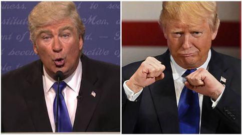 Trump y Alec Baldwin, 'enfrentados' por una imitación en televisión: Apesta