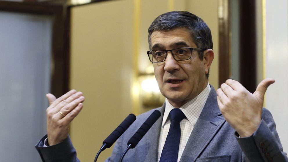 Patxi López deja en manos del PSOE el recurso al Tribunal Constitucional