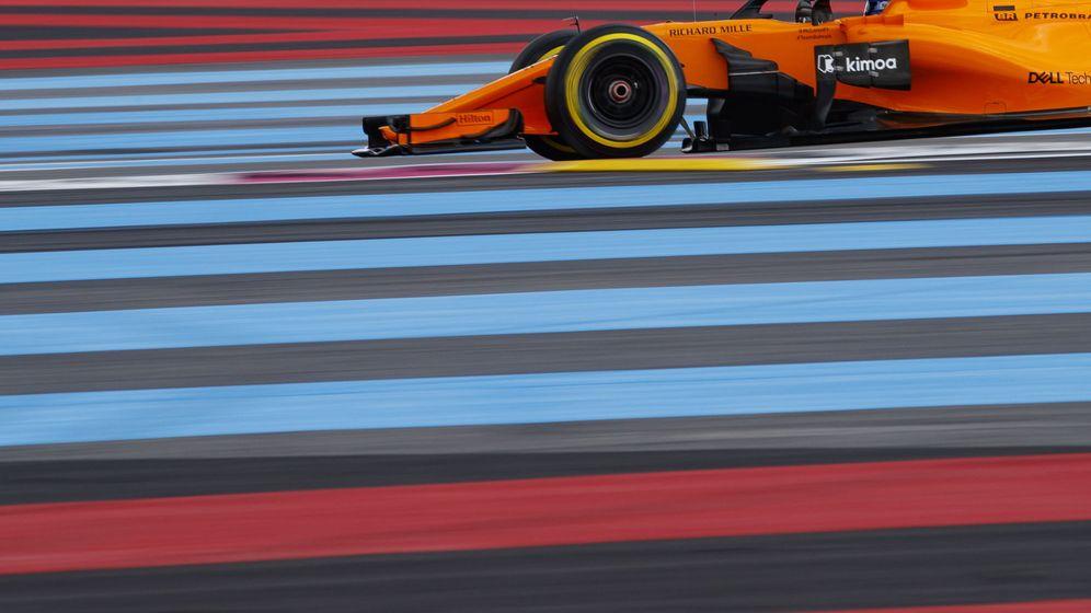 Foto: Fernando Alonso, durante el Gran Premio de Francia de Fórmula 1 | EFE