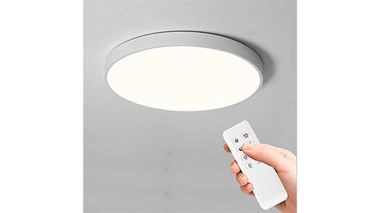 Plafón LED de techo regulable con mando a distancia de Anten