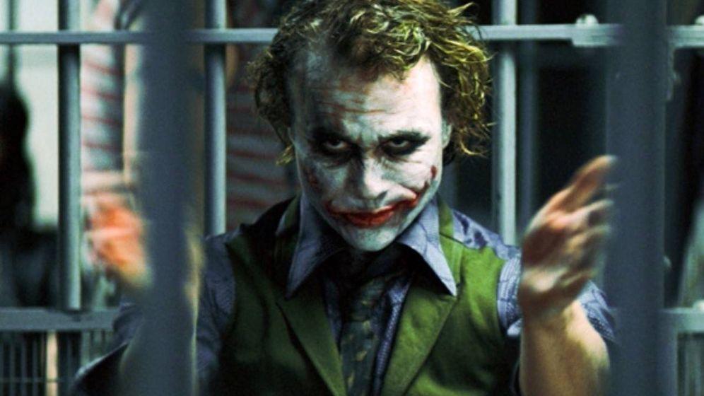 Foto: Heath Ledger como el Joker