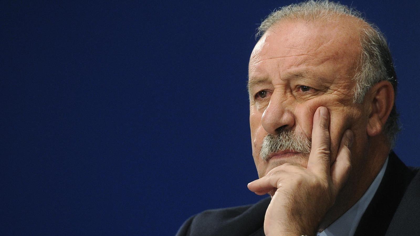 Foto: El seleccionador español de fútbol, Vicente del Bosque.
